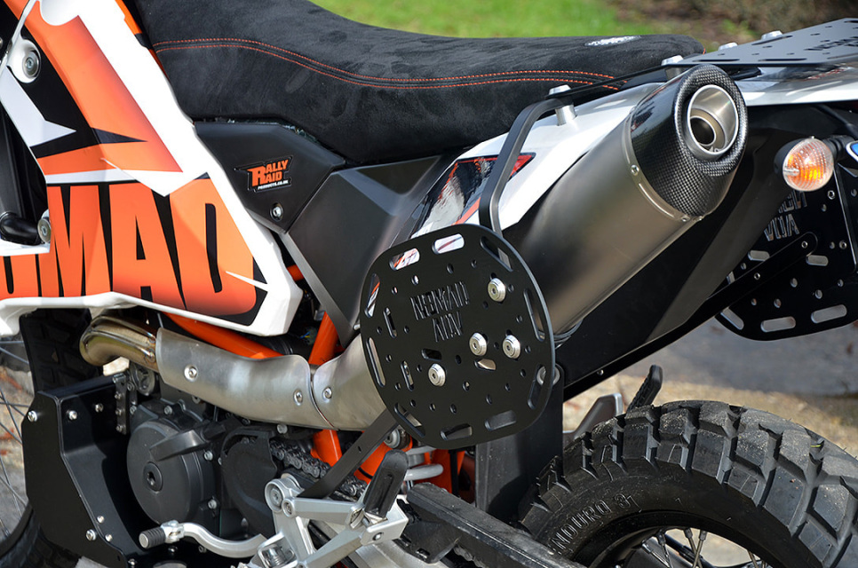 Ktm 690 Soft Luggage Rack