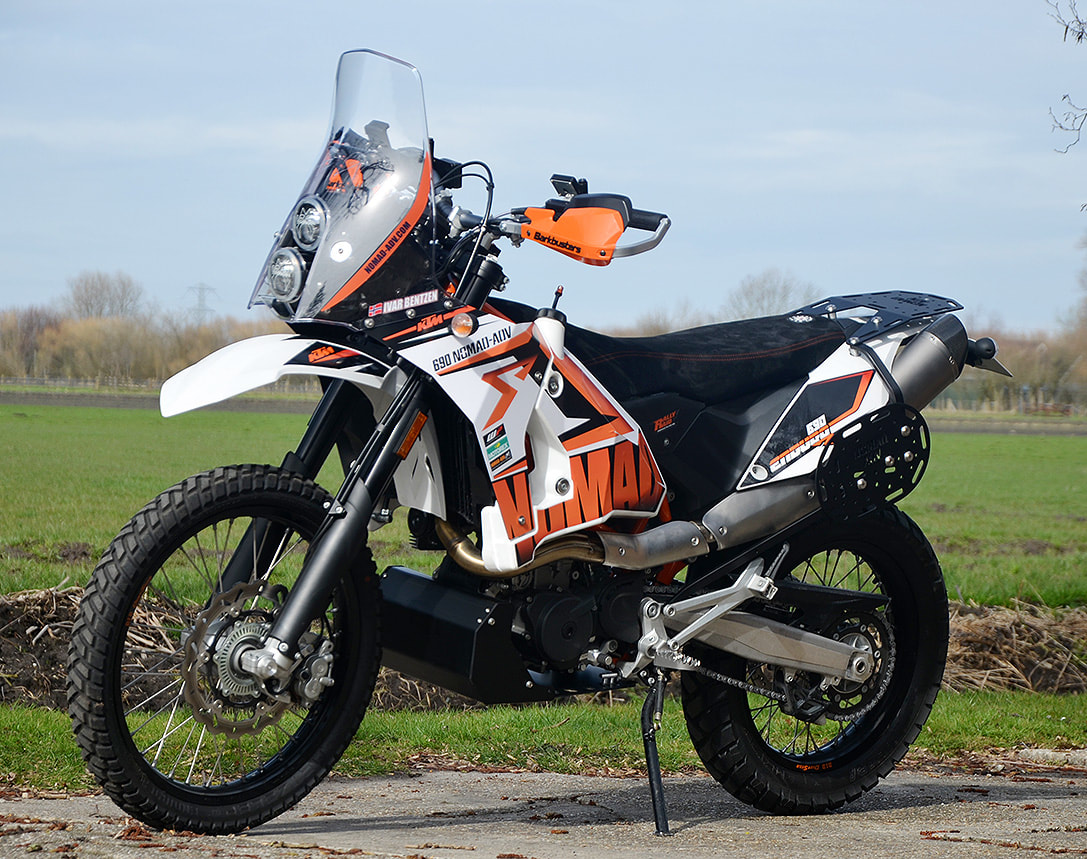 KTM 690 Nomad-RR Travel Tower